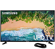 Samsung 43 Class LED 4K Ultra HDTV and 6 HDMICable - E295428