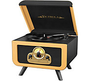 Victrola 5-in-1 Vintage Tabletop Bluetooth Record Player - E290829