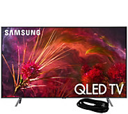 Samsung 75 Class QLED Q4K Ultra HDTV & HDMICable - E294729