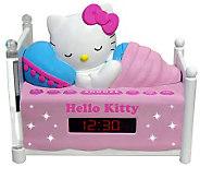 Hello Kitty Sleeping AM/FM Clock Radio with Night-Light - E258030