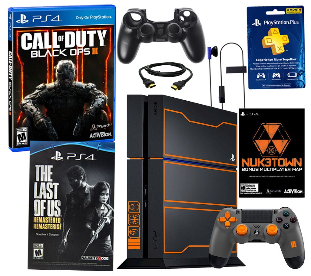 Sony 1tb Call Of Duty Black Ops 3 Ps4 Bundle W Bonus Game Page 1