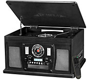 Victrola Wooden 8-in-1 Bluetooth Record Player - E290831
