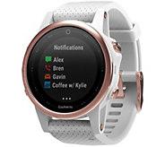 Garmin fenix 5S 42mm Multisport Watch SapphireEdition - White - E293931