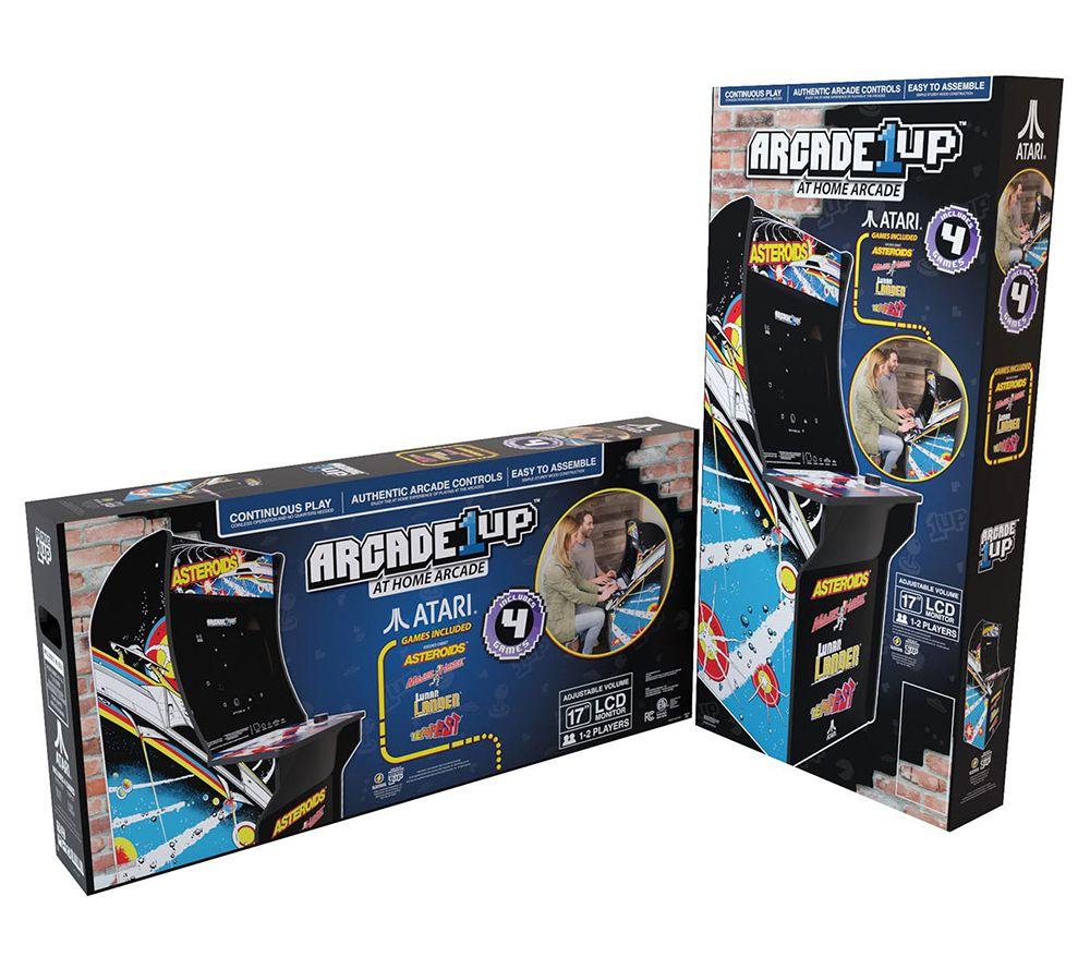 Arcade1Up Asteroids Home Arcade Machine — QVC com