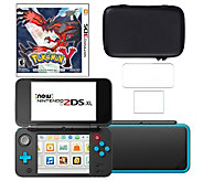 Nintendo 2DS XL with Pokemon Y & Accessories - E292332