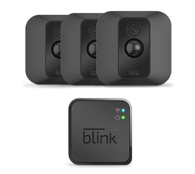 Blink XT 3-Pack Wire-Free HD Weatherproof Wi-Fi Cameras w/ Night Vision —  QVC com