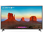 LG 75 Class 4K HDR Smart LED AI UHD TV with ThinQ - E294233