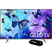 Samsung 75 Class QLED Flat Q4K Smart Ultra HDTV & HDMI Cable - E294733