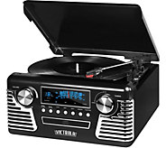 Victrola Retro Bluetooth Record Player andStereo - E290835