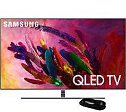 Samsung 75 Class QLED Flat Q4K Smart Ultra HDTV & HDMI Cable - E294735