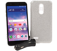 Tracfone LG Premier Pro 5.3 Smartphone w/ Case & 1500 Min/Text/Data - E230536