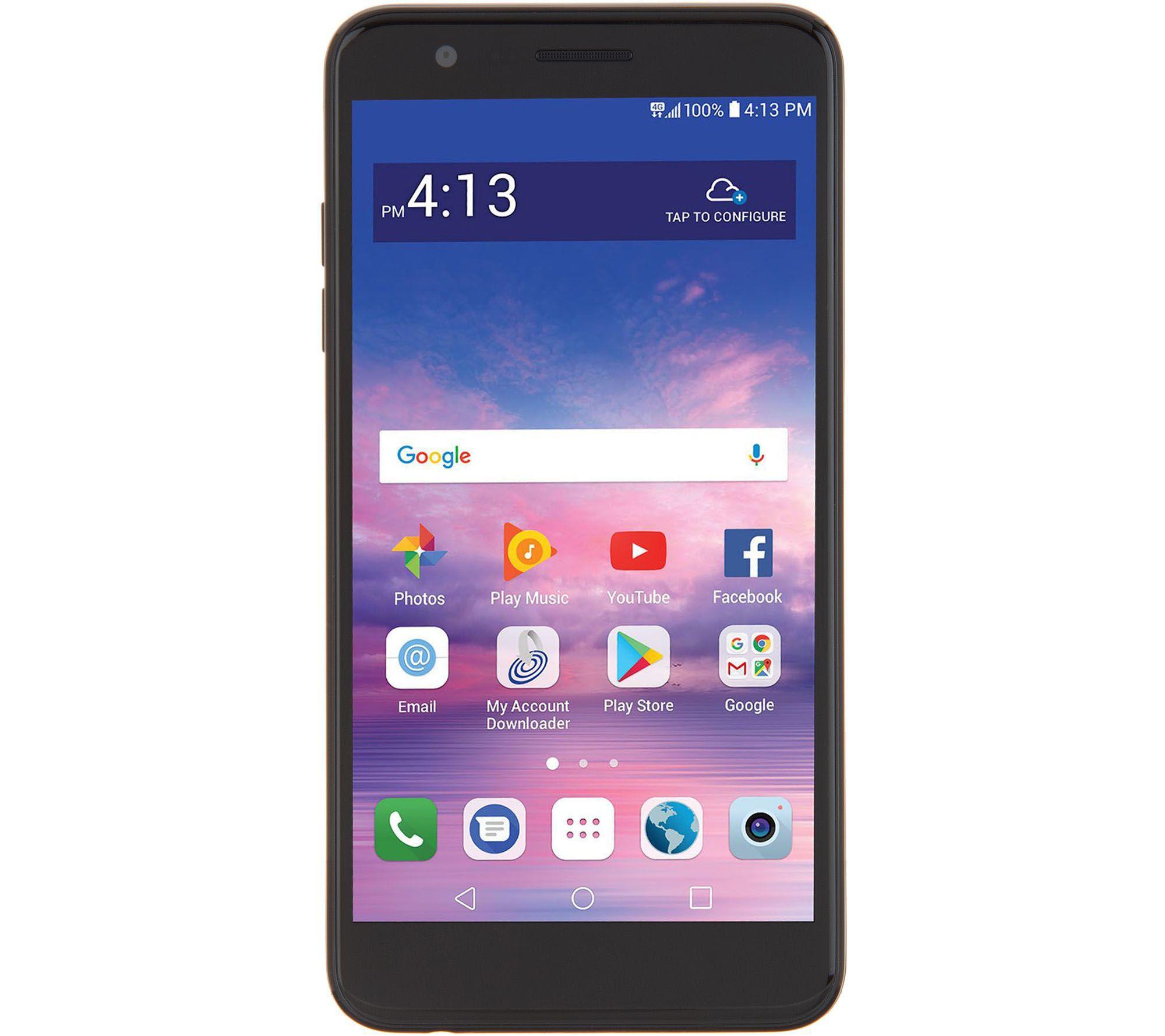 Tracfone Compatible Smartphones >> Tracfone Lg Premier Pro 5 3 Smartphone W Case 1500 Min Text Data