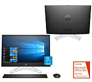 HP 24 Touch All-in-One AMD A9, 1TB HDD 3yr Antivirus & MS Office 365 - E232237