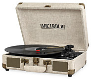 Victrola Portable Bluetooth Suitcase Record Player - E290837