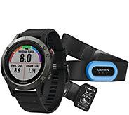Garmin fenix 5 47mm Multisport GPS Smartwatch Performer Bundl - E293937