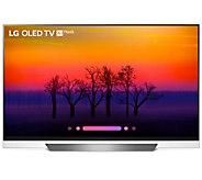 LG 65 Class OLED E8PUA Series 4K HDR AI UltraHDTV - E294037