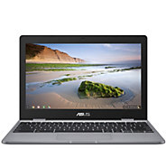 ASUS 11.6 Chromebook Laptop - 4GB RAM, 32GBeMMC, Gray - E297039