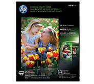 HP 50-Count Everyday Photo Paper, Glossy, A, 8.5x11 - E290240