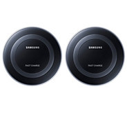 Samsung Fast Charge Wireless Charge Pads 2 Pack for Select Phones - E232941