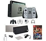 Nintendo Switch Console with Sonic Forces Game& Accessories - E294441