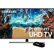 Samsung 65 Class LED HDR  Smart Ultra HDTV & HDMI Cable - E294741