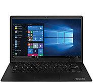 EVOO Ultra-Slim 14.1 Laptop with Intel Quad-Core Processor - E298541