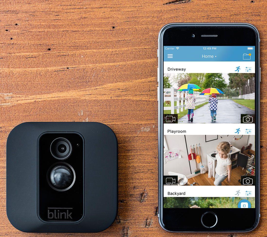 Blink XT 4-Pack Wire-Free HD Weatherproof Wi-Fi Cameras w/ Night Vision —  QVC com