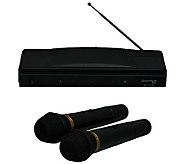 Quantum Twin Pack Wireless Microphone System - E272542