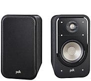 Polk S20 American HiFi Home Theater Bookshelf Speaker - E293443