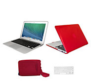 Apple Macbook Air 13 with Clip Case Carry Bag & Accessories - E230444