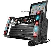 Akai Portable Karaoke System w/ iPad Dock & Microphone - E272544