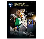 HP Advanced Photo Paper, Glossy, 5 x 7 - 60 ct - E290244