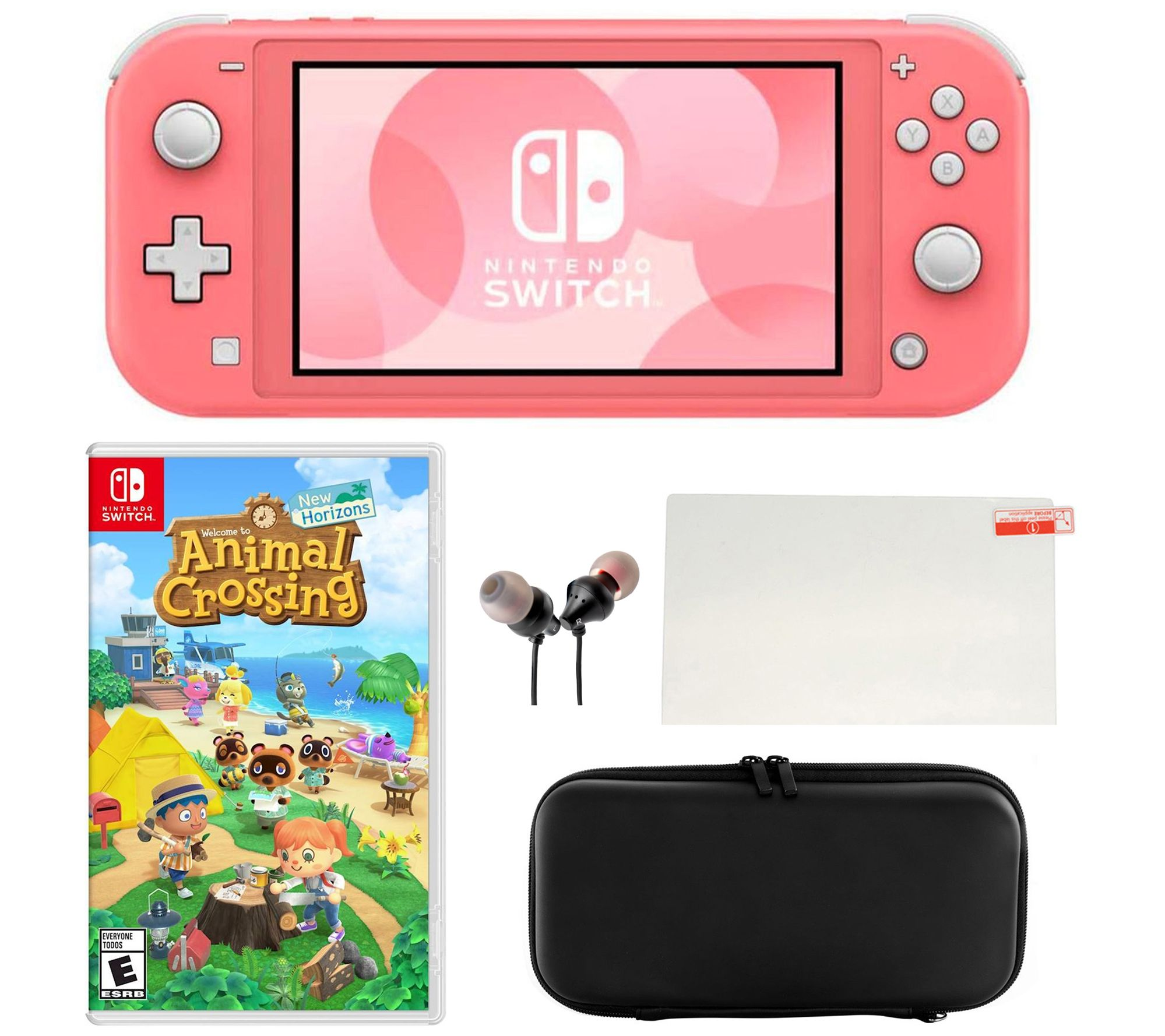 Nintendo Switch Lite With Animal Crossing Accessories Qvc Com