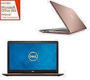 Dell 17 Laptop AMD Ryzen 3 12GB RAM 1TB HD Software Pack & MS Office 365 - E232145