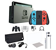 Nintendo Switch Console with Case & Accs. - E293145