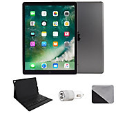 Apple iPad Pro 12.9 64GB Wi-Fi with BluetoothKeyboard - Gray - E293745