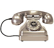 Crosley Kettle Classics Desk Phone - Brushed Chrome - E213947