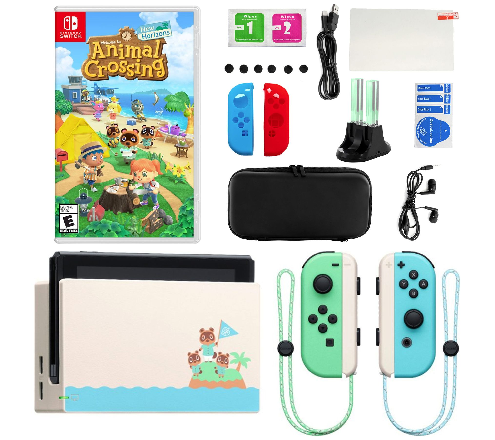 Nintendo Switch Special Edition Console With Animal Crossing