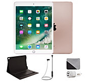 Apple iPad Pro 10.5 64GB Cellular & Accessories - Rose Gold - E293247