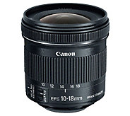 Canon EF-S 10-18mm f/4.5-5.6 IS STM Lens - E293847
