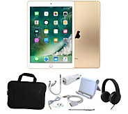 Apple iPad Mini 4 128GB Wi-Fi Tablet w/ Carry Case and Accessories - E232548