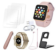 Apple Watch Series 3 38mm Sport Cellular with Accessories - E292848