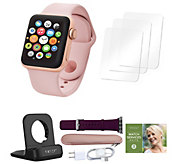 Apple Watch Series 3 38mm w/ Extra Band, Accessories & Voucher - E232249