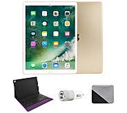 Apple iPad Pro 12.9 64GB Wi-Fi with BluetoothKeyboard - Gold - E293749