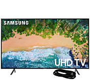 Samsung 40 LED 4K HDR Ultra HDTV and 6 HDMICable - E294749