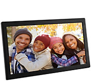 Aluratek 17.3 Wi-Fi Digital Photo Frame with Touchscreen IPS - E298349