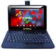 LINSAY 10.1 16GB Android Tablet - 2GB RAM w/ Croc Keyboard - E300049