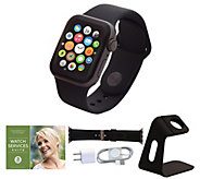 All-New Apple Watch Series 4 44mm GPS with Extra Band and Accessories - E232551