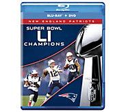 New England Patriots NFL Super Bowl 51 ChampsBlu-ray/DVD Set - E290551