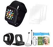 Apple Watch Series 1 38mm w/ Two Extra Bands and Accessories - E232252